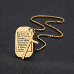 Necklace with Isaiah 41:10