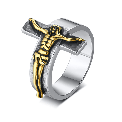 Jesus Crucifix Ring