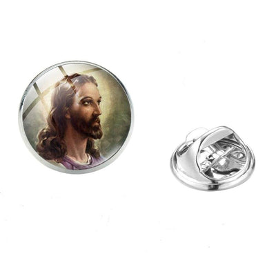 Christian Pins<br> Jesus' Face