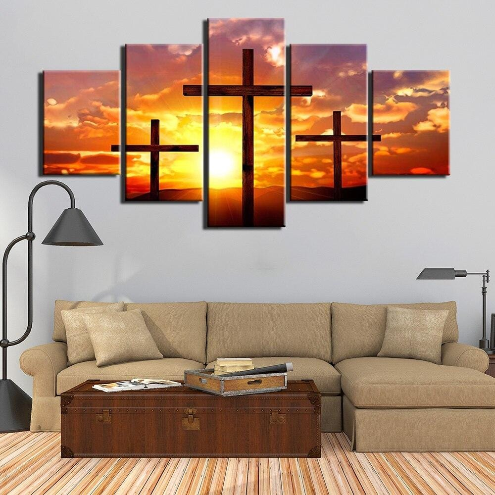 jesus-three-cross-wall-art