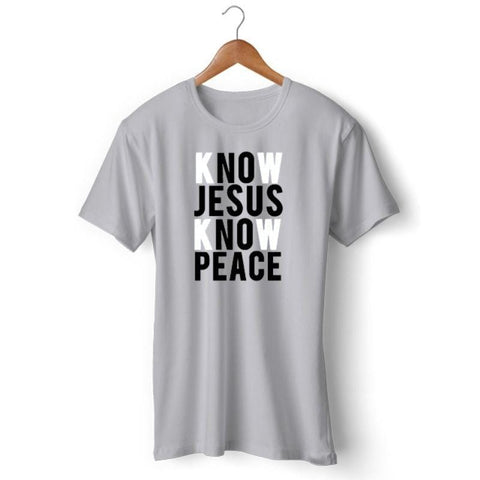 know-jesus-know-peace-shirt