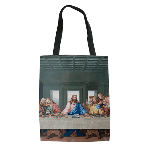 last-supper-christian-tote-bag