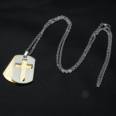 Lord's Prayer Necklace Men's