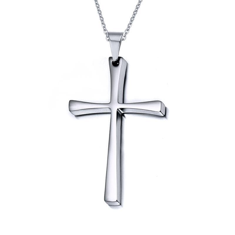 Men's Cross necklace Stainless Steel