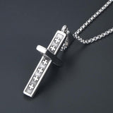Christian Cross Necklace stainless steel