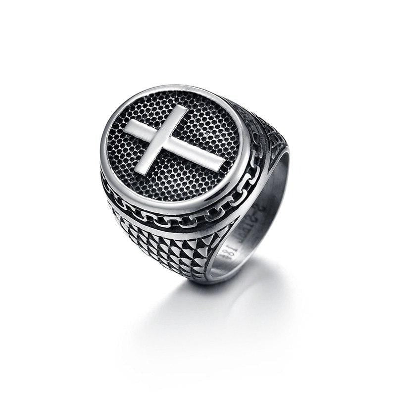 mens-signet-cross-ring