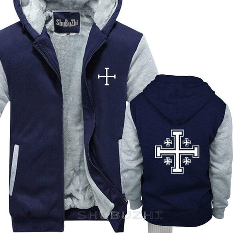 navy-grey-jersualem-cross-jacket