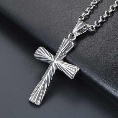 pendant-mens-cross-necklace-steel