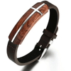 Rosewood With Cross Bracelet