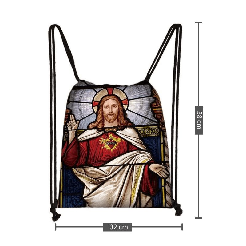 Christian Drawstring Bag<br> Nativity