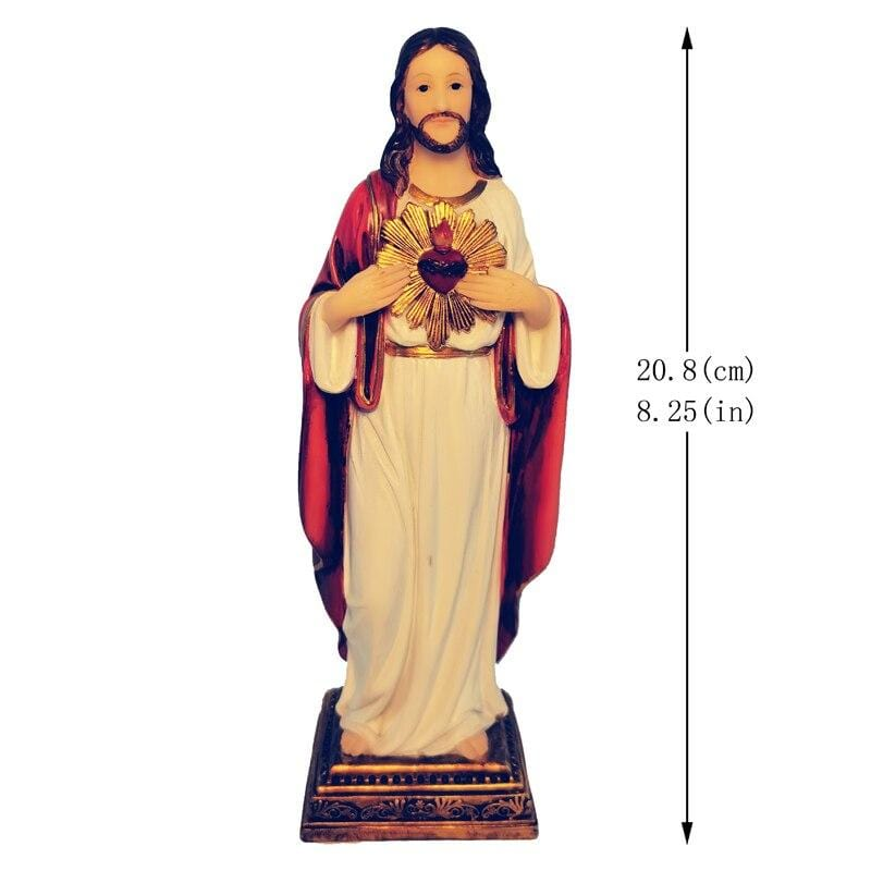 size-sacred-heart-of-jesus-figurine