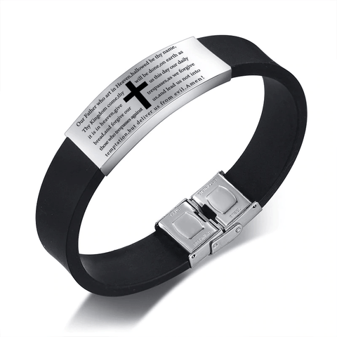 The Lord's Prayer Silicone Bracelet