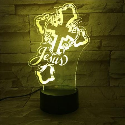 3d night light table desk lamps