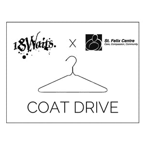 18 Waits X St. Felix Centre Coat Drive