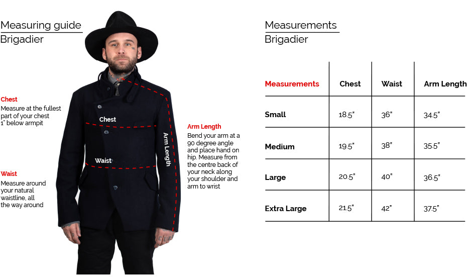 18 Waits Brigadier Fit Guide