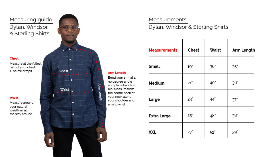 Dylan Shirt Fit Guide 18 Waits