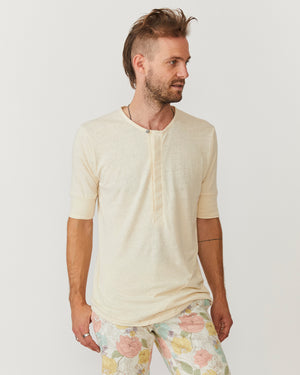 Hitchhiker Henley | Natural Hemp