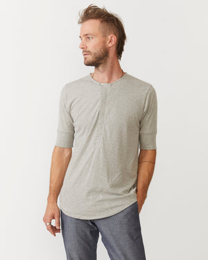 Hitchhiker Henley | Grey Hemp
