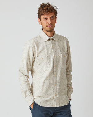 Woodsman Shirt | Natural Melange