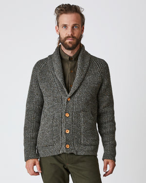 Knit Cardigan | Derby Tweed