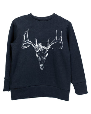 Crew Sweater | Midnight Buck