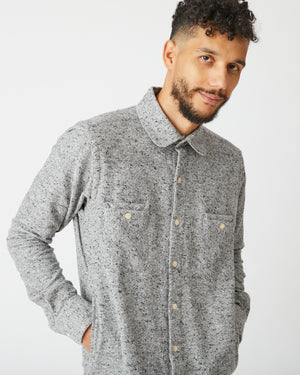 Woodsman Shirt | Salt & Pepper