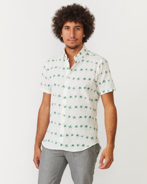 Short Sleeve Dylan | White Palms