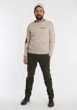The Skipper Sweater | Cream Melange Wool