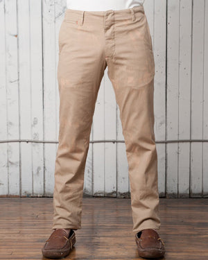 The Slim Casual Trouser | Washed Sand Twill
