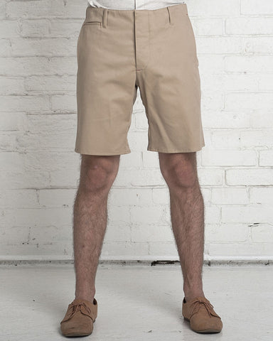 The Slim Shorts | Washed Khaki