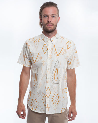 Cotton Southwest Short Sleeve Shirt Front