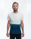 Cotton Indigo Dip Dye T-shirt Front