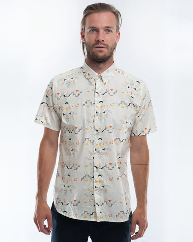 Cotton Wanderer Short Sleeve Shirt Front