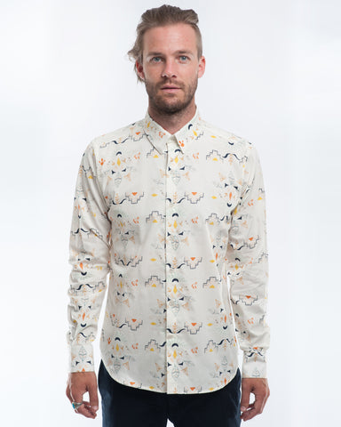 Cotton Wanderer Long Sleeve Shirt Front