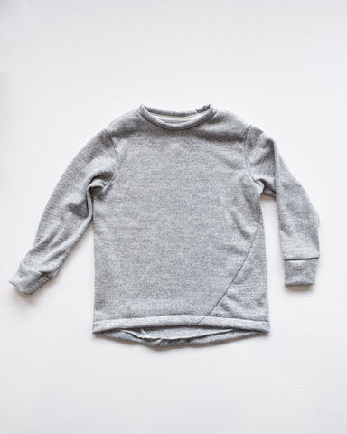 Hopper Hunter | The Skip Tee | Soft Grey Jersey