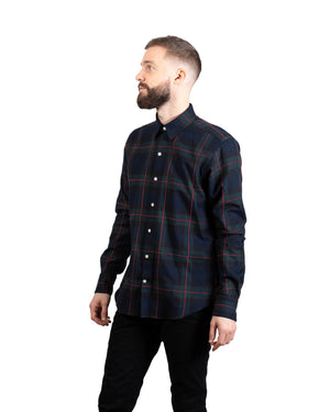 Dylan Shirt | Forest Windowpane