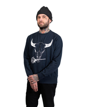 Crew Sweater | Midnight Bison