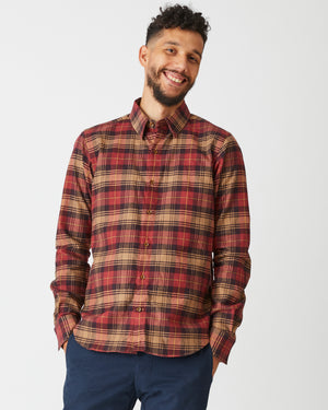 Dylan Shirt | Autumn Plaid