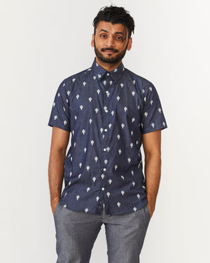 Short Sleeve Dylan | Cactus Blues