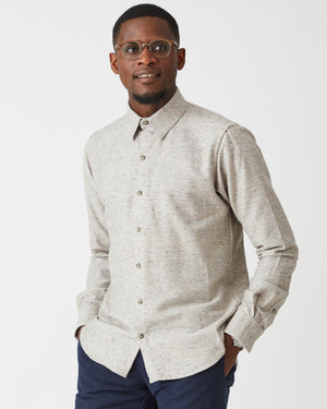 Dylan Shirt | Spiced Grey Melange