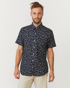 Short Sleeve Dylan | Indigo Twigs