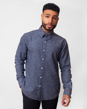 Dylan Shirt | Spiced Blue Flannel