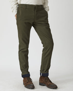 Lined Field Pant | Olive Bull Denim