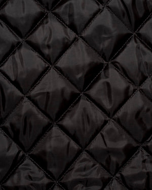 Fabric | Black Quilted Batting