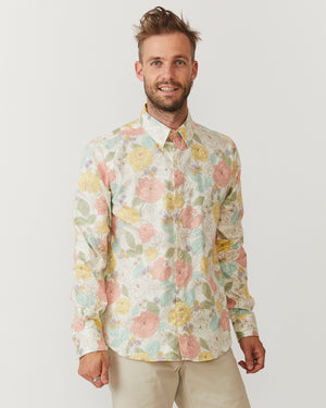 Long Sleeve Dylan | Light Flower Power