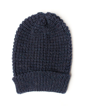 Indigo Wool Toque | 18 Waits