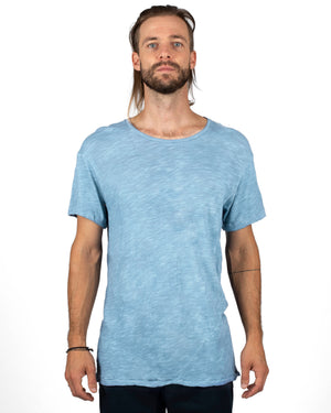 Light Blue Men's t-shirt - front