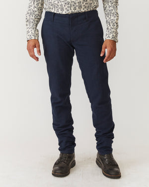 Slim Trouser | Crushed Navy