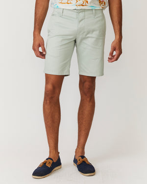 Slim Shorts | Seafoam