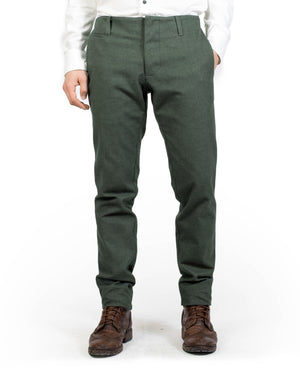 Slim Suit Trouser | Moss Green